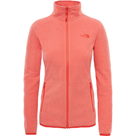 The North Face 100 Glacier - Veste Femme - orange
